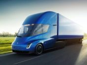 Tesla clean energy truck